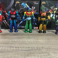 Go Nagai lots of Mazinger, Goldrake and Getter robot, Energer z, Mazinkaiser skull