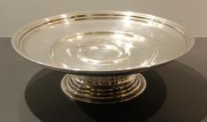 Christofle, France - Gallia silversmiths - Dish/mounted tray - Numbered - Circa 1908 to 1929