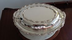 oneida silver plated tureen made in canada.