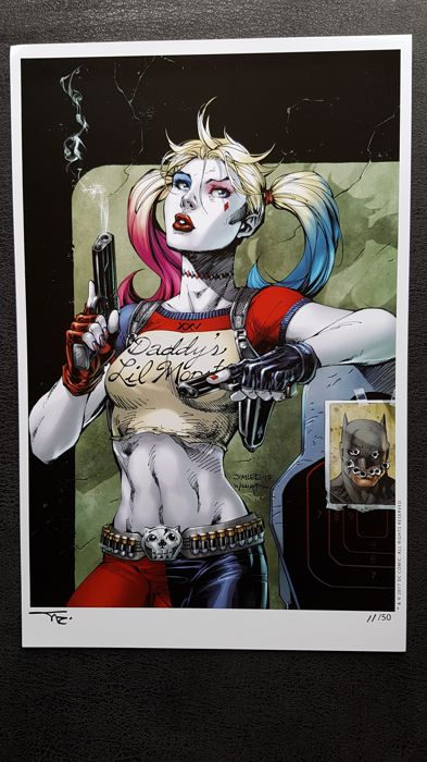 bf82ea24b712 DC Comics - Art Print Harley Quinn signed by Alex Sinclair Limited print   11 Of