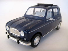 Norev - Scale 1/18 - Renault 4 1965 - Copenhague Blue