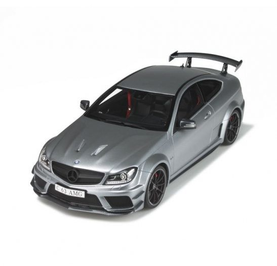 gt spirit echelle 1 18 mercedes benz c63 amg black series argent catawiki. Black Bedroom Furniture Sets. Home Design Ideas
