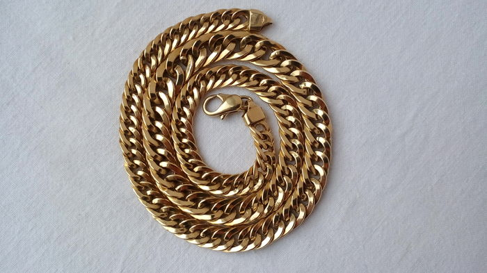 Necklace in 18 kt gold - Length: 44 cm