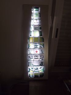 Heineken, Light Bottle, With Special Lighting Work.