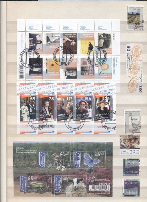 Netherlands 1992/2010 - Collection in 3 stock books