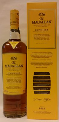 The Macallan - Edtion No 3 - Limited Edition