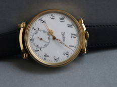 36. ZentRa men's marriage wristwatch ca. 1930