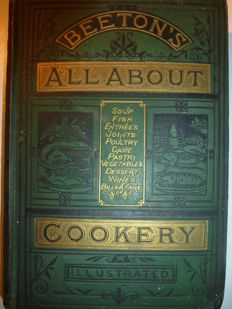 Mrs Beeton - Beeton's all about cookery - 2 volumes - undated (ca. 1890)