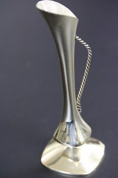 Silver vase - solid - Germany