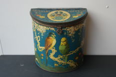 Storage tin of Dibbits Caramels - first half 20th century