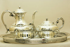 Silver Plated Breakfast Set, Oneida, Canada, circa early 20th Century