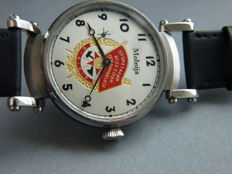 32. Molnija marriage wristwatch with CCCP theme 1970-75