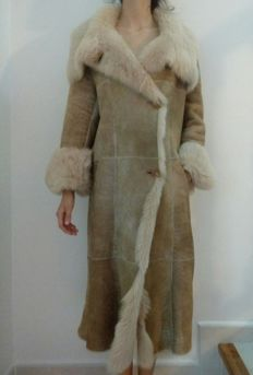 Roberto Verino - Coat, 100% sheepskin