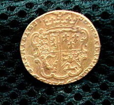 United Kingdom - 1/2 Gunea 1756 George II - gold