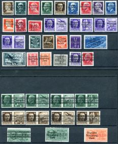 Zara 1943 - German Occupation - Collection of ordinary mail, airmail, express and postage due stamps