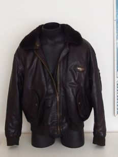 Redskins - Leather Convertible / motorcycle jacket - ca. 2000