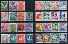The Netherlands 1925/1933 - Syncopated perforation Child relief stamps - NVPH R71 through R101