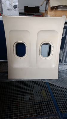 Side wall panel, from the Airbus A320.