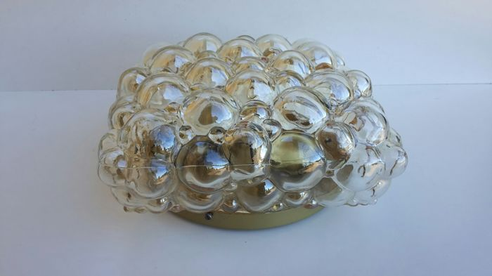 Unknown designer - Vintage 'Bolle' (Bubble) sconce/ceiling lamp