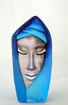 Mats Jonasson for Mäleräs - large mask Batzeba Blue