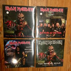 Iron Maiden Collection || Live Recordings || Colored Vinyl! || 4x LP ||