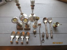 Collection of silver plate - 20th century