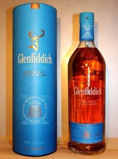 Glenfiddich Select Cask Collection: European, Bourbon & Red Wine Casks, Solera Vat No 1,  1 Litre 40% alc/vol.