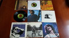 "George Harrison - Lot of 9 x 7"" Singles"