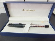 Waterman Expert Deluxe CT Roller Ball Pen-Black