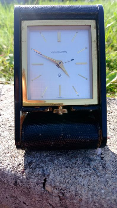 Jaeger LeCoultre travel alarm clock - 1950 or 1960