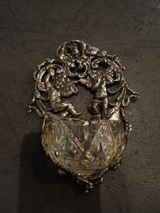 Holy water font in silver SHINE', 20th century