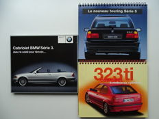 1997 - 2000 - B.M.W. 323 ti Compact / 528i Touring / 323 Ci Cabriolet - Mixed lot of 3 original sellers handbooks