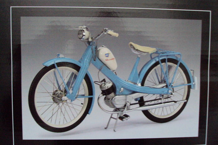 Schuco - Scale 1/10 - NSU Quickly 1953-1955  - Blue