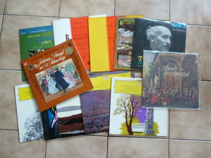 lot of 12 classical lp's
