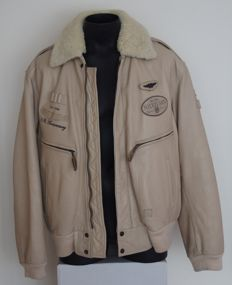 Nickelson – Quality Edition – Leather aviator jacket