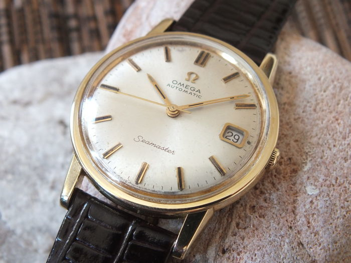 Omega seamaster automatic watch men 39 s 1963 vintage catawiki for Omega watch vintage