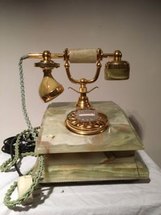 Classic marble telephone, Netherlands, second half 20th century