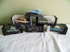 Various - Scale 1/43 - Lot of 6 models: Austin Princess, Dodge, Oldsmobile, Ford, Chevrolet & Simca