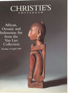Auction Catalogues; African, Oceanic and Indonesian Art from the Van Lier Collection + 13 other auction catalogues with emphasis on (South-East) Asia - 1968 / 1997.