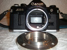 CANON AE-1 black, Body only, (1980).