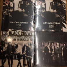 Four albums of The Black Crowes || Coloured vinyl || Limited edition ||Deluxe editions