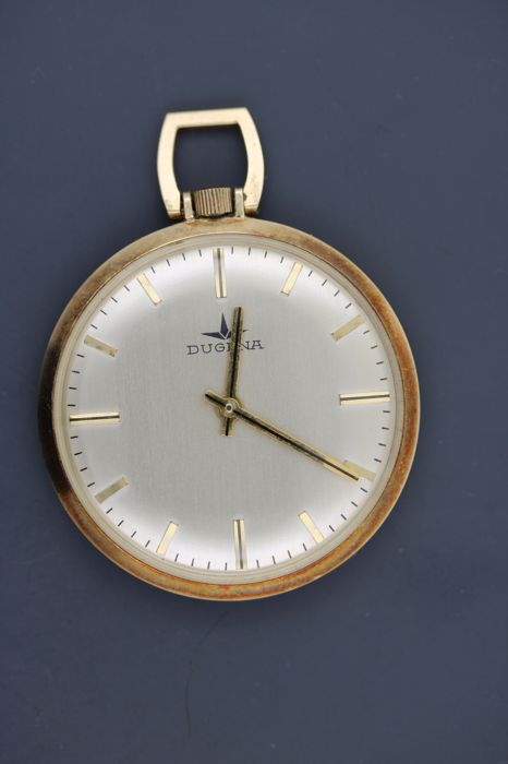 Pocket watch - unisex - Dugena 14 kt / 585 gold