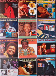 "Fats Domino Picture Disc + CD & CD Serie The Originals 1 t/m 12 Complete & Rare VIDEO + 3"" CD Single"