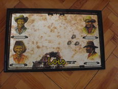 LOIS jeans Mirror - With 4 Western cowboys - Spanish and rare.