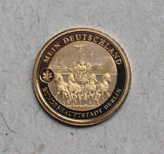 "Germany - Medal - ""Bundeshauptstadt Berlin"" - Federal capital Berlin - Gold"