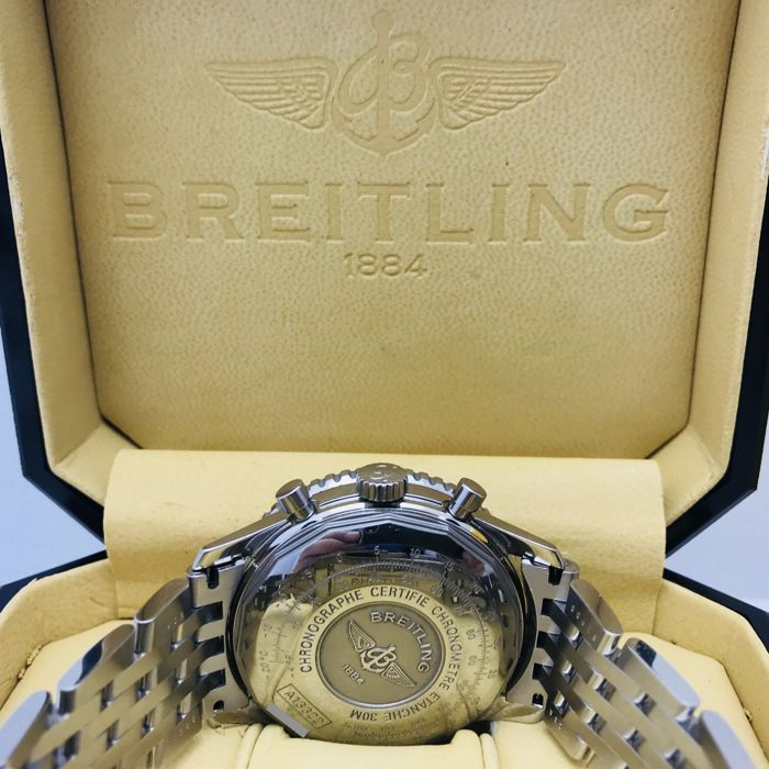 Breitling - Oude Navitimer Chronograph - A133322 - Mens Watch - 2002