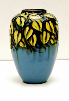 Max Laeuger for Karlsruhe Majolika - Art Deco ceramic vase