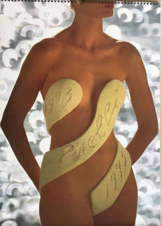 1993 Pirelli calendar - 30th birthday of Pirelli