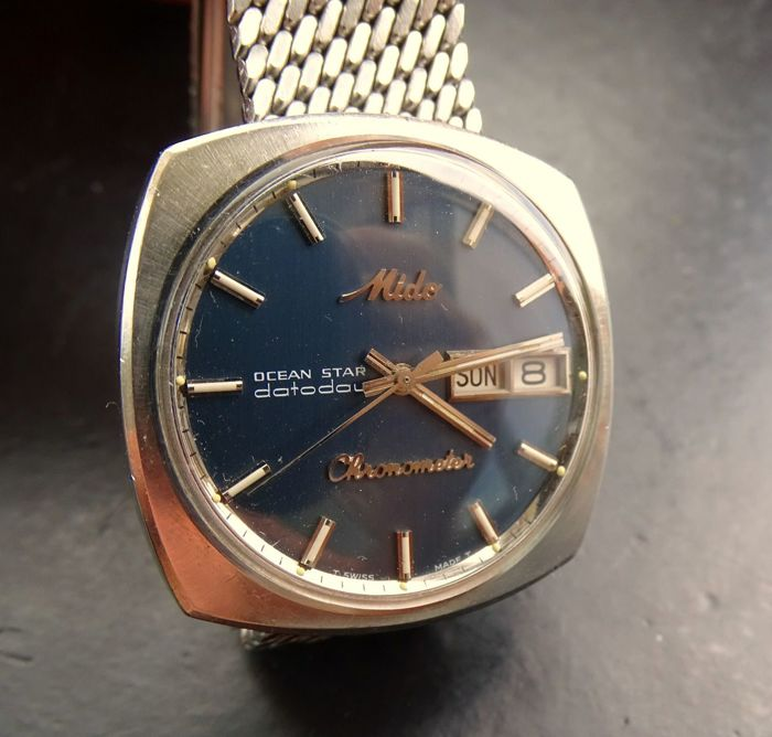 334579947f0 Mido OCEAN STAR Datoday chronometer 5519 vintage automatic men s wristwatch  1968