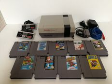 Nintendo NES With 10 Games, including the 3 Super Mario Bros.